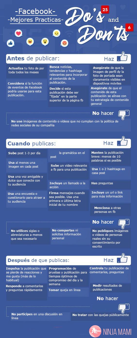 Las mejores prácticas para sacarle el máximo provecho a Facebook