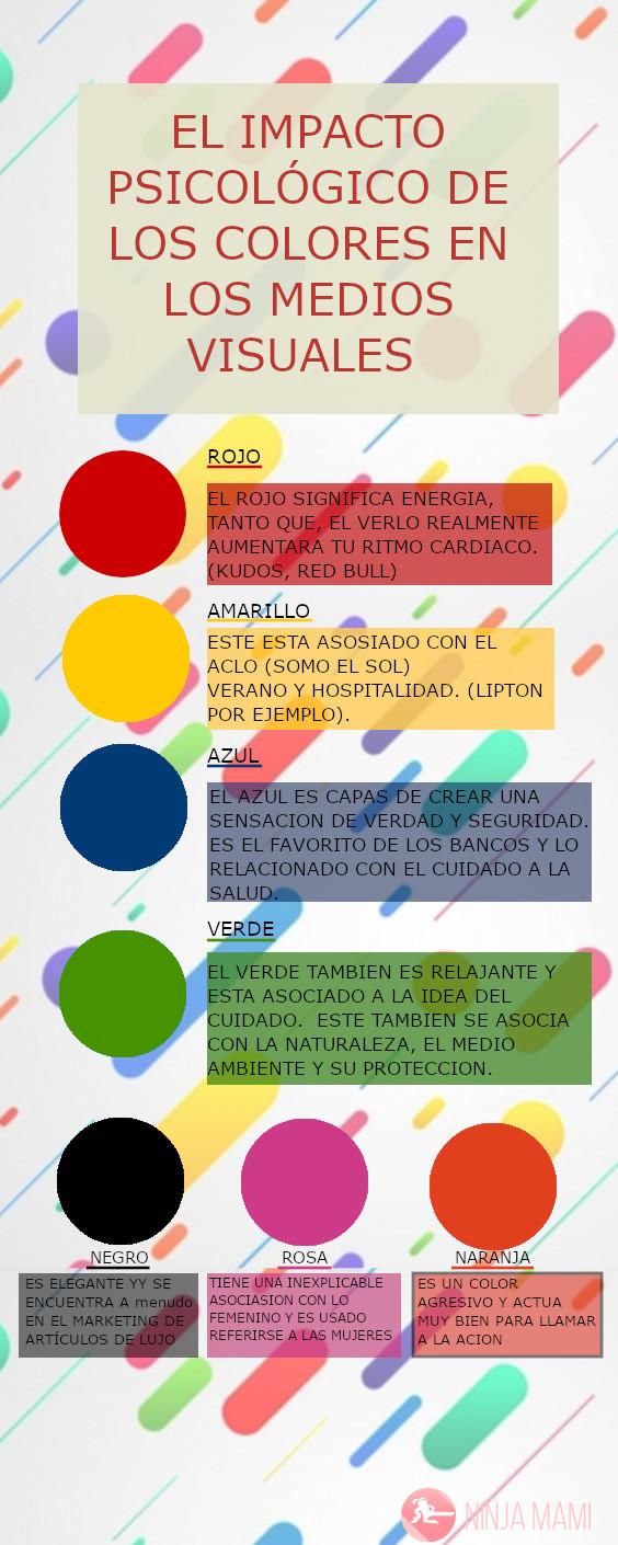 el impacto psicologico de los colores en el marketing