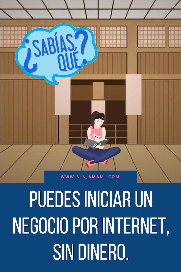 Aquí hay 5 MANERAS DE EMPEZAR UN NEGOCIO POR INTERNET SIN DINERO