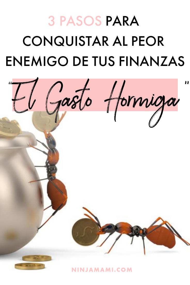 """3 Pasos Para Conquistar al Peor Enemigo De Tus Finanzas """"El Gasto Hormiga"""""""