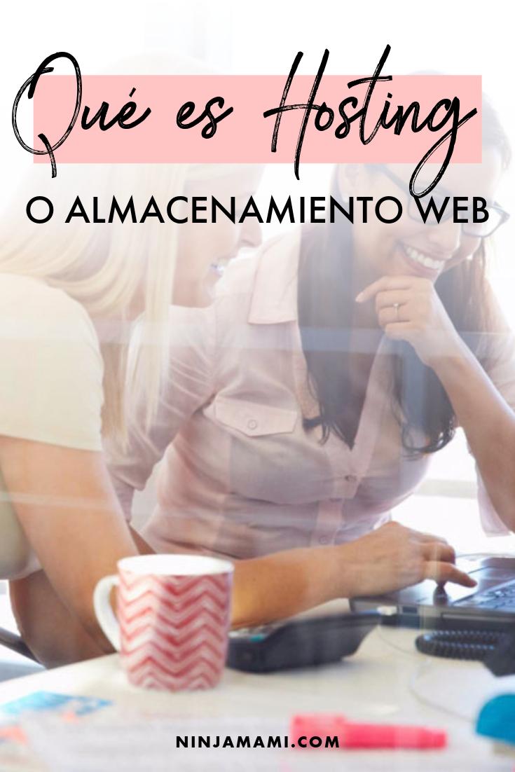 Qué es Hosting o Almacenamiento Web