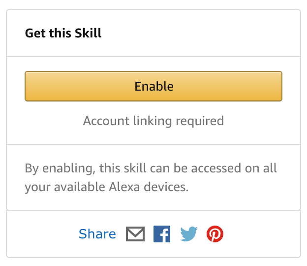 Amazon Alexa - Real Estate Skill - My Home Agent - Find a Realtor - Sell my home - Enable Skill Image Enable.png