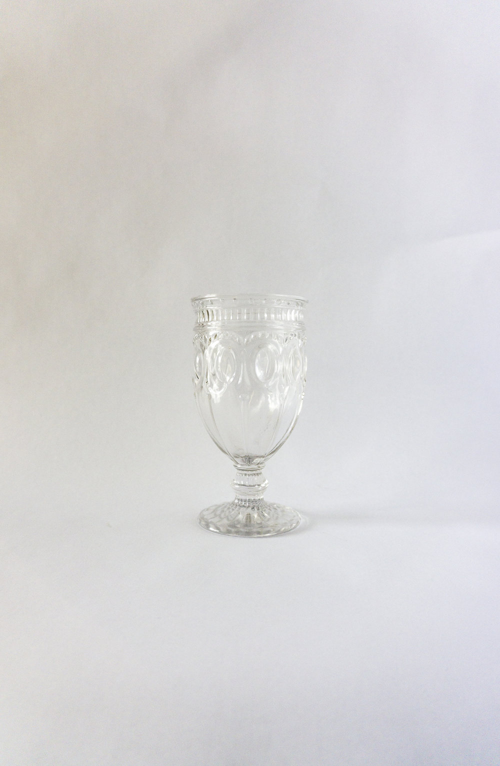 Clear Goblet  12 Ounce