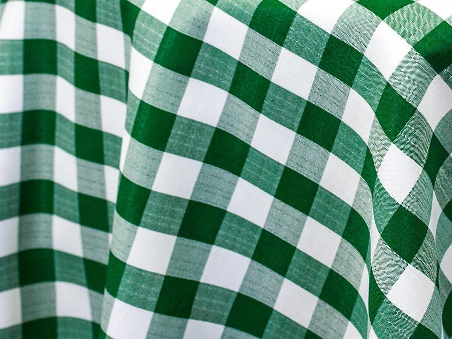 Hunter Green Checkered