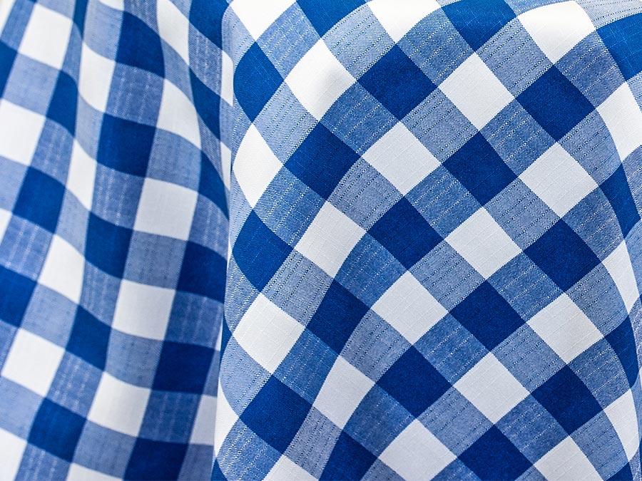 Blue Checkered