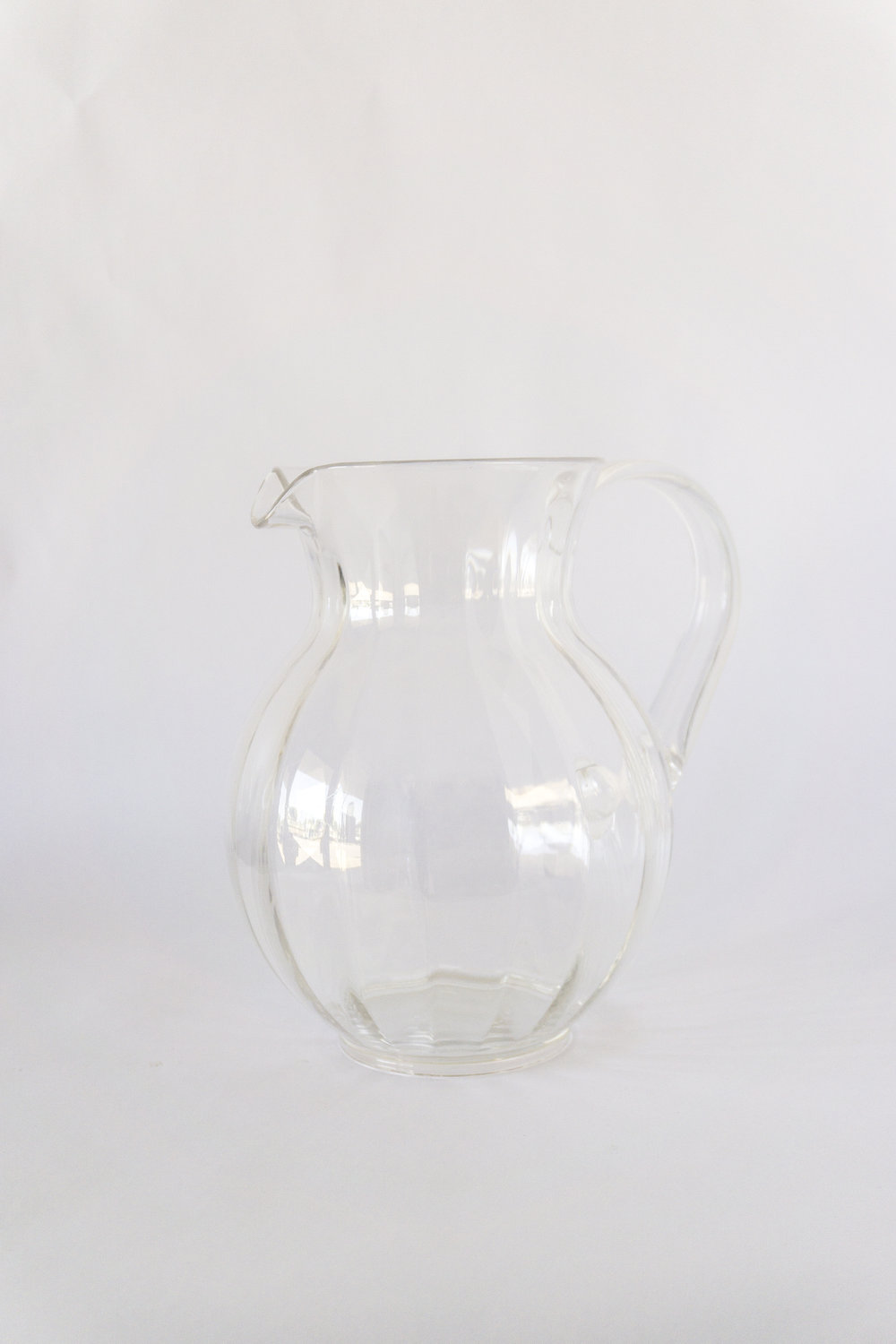 Tahiti Plastic Water Pitcher  75 oz  $3.00