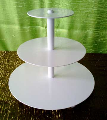 "Round Tiered Tray (6"", 10"", 14"")  $18.00"
