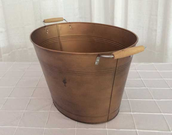 Copper Drink Tub  $12.50