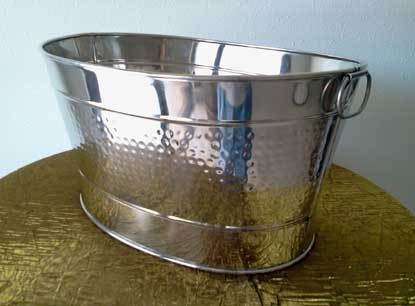 Chrome Drink Tub  $10.00