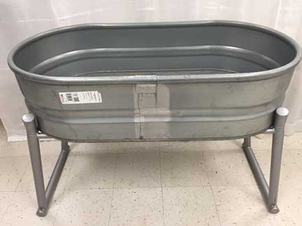 Heavy Duty Oval Drink Tub w/Stand  $38.50