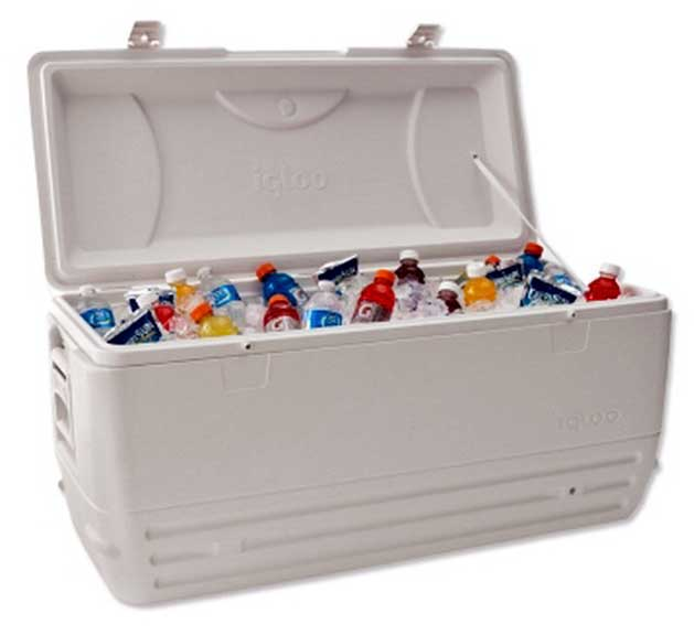 Ice Cooler -130 drinks  $15.00