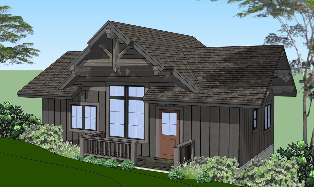 Jocassee Springs Cabin2 front.jpg
