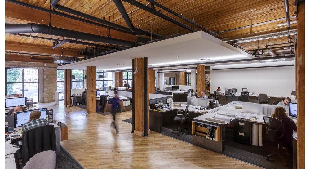 139 Market, interior photo of office space / Photo: Lindsay Reid