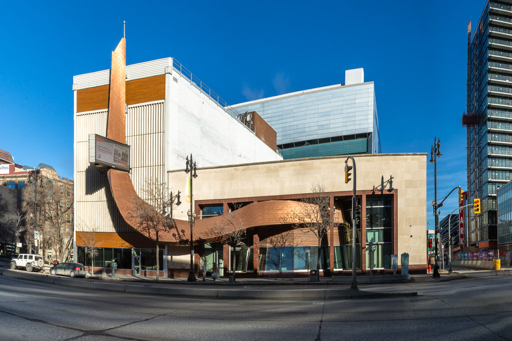 APTN Building, exterior panoramic photo / Photo:  Lindsay Reid