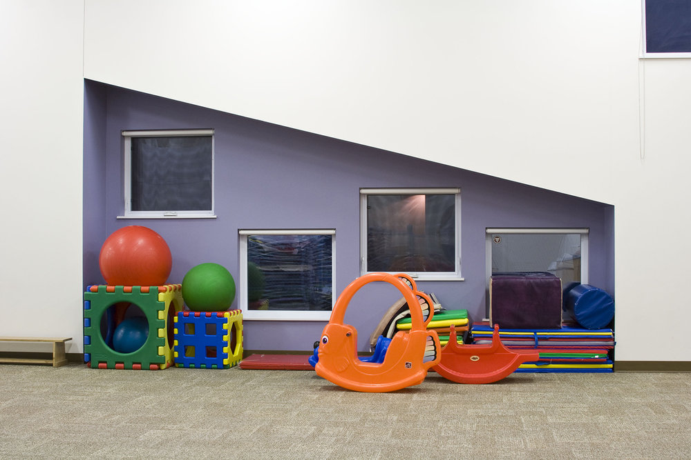 UWSA Daycare, interior photo of daycare room / Photo: Tracy A Wieler