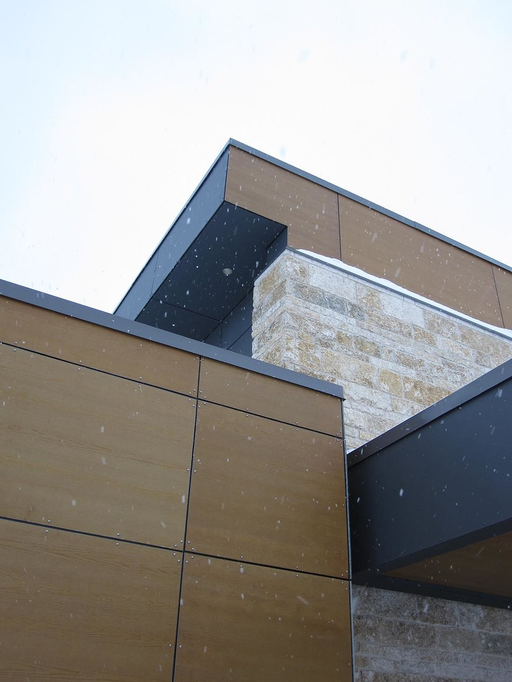 Crosstown Civic Credit Union, exterior detail photo of building