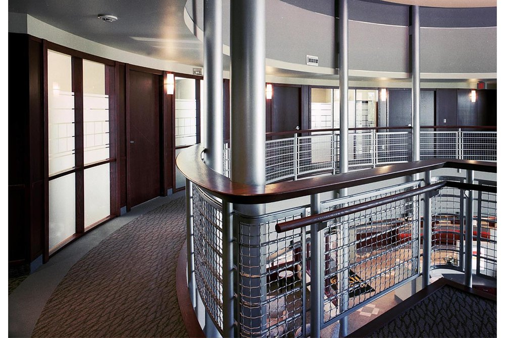 Holy Spirit (Entegra) Credit Union, interior photo of from second floor