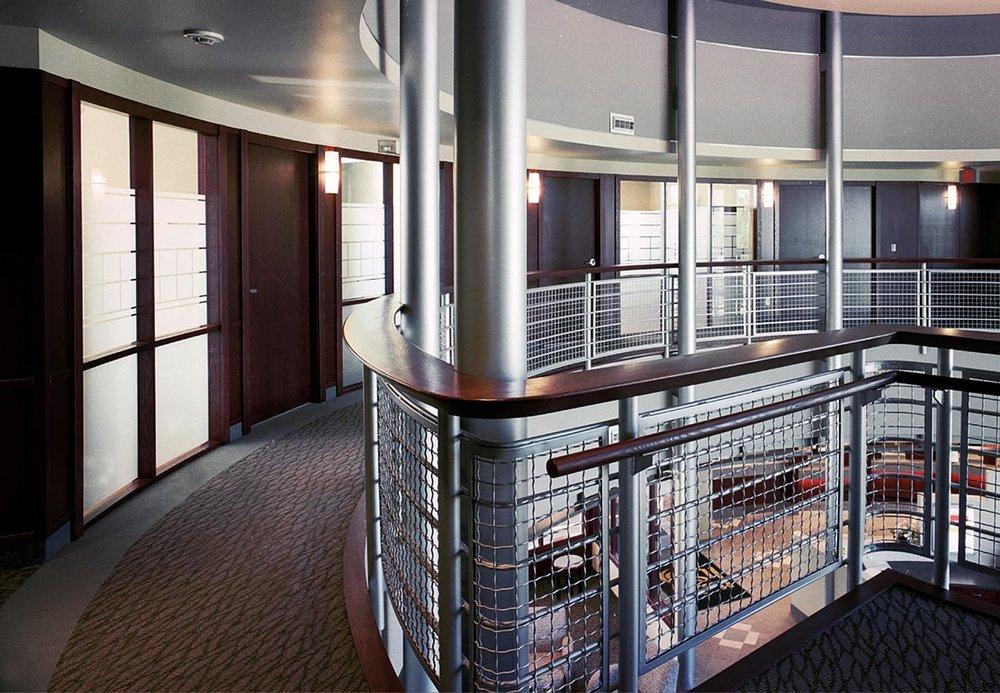 Holy Spirit (Entegra) Credit Union, interior photo of second floor