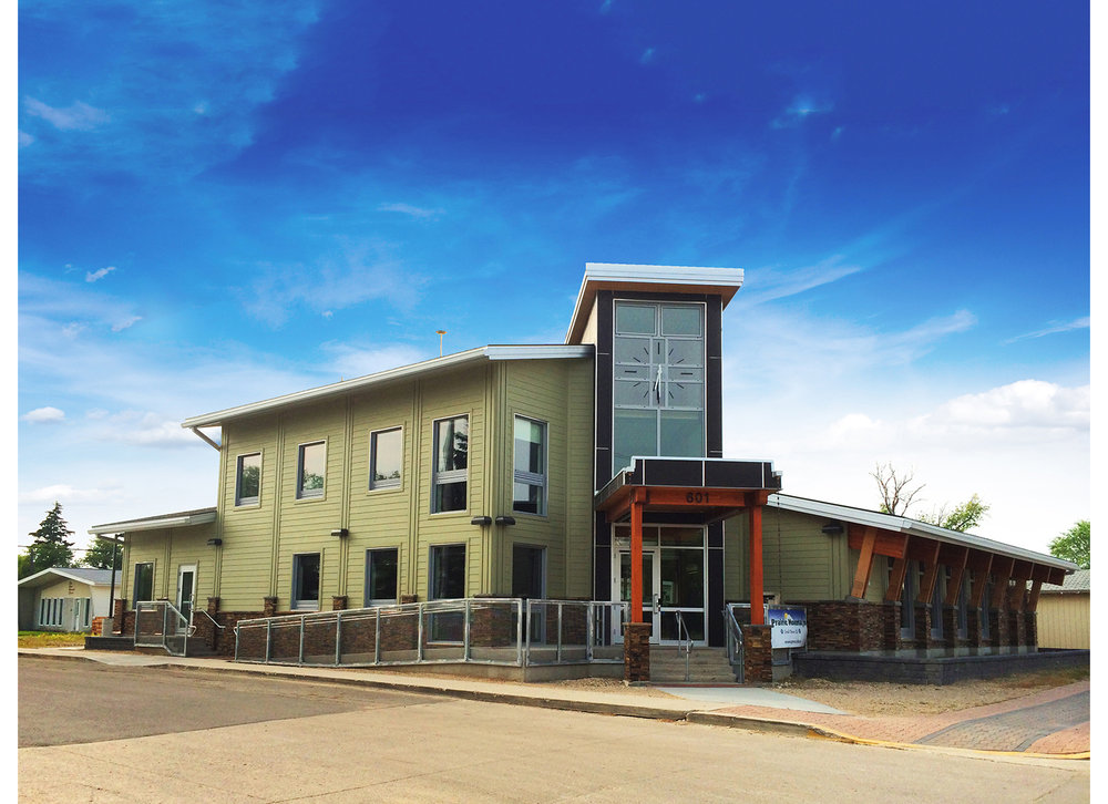 Prairie Mountain Credit Union, exterior photo of building