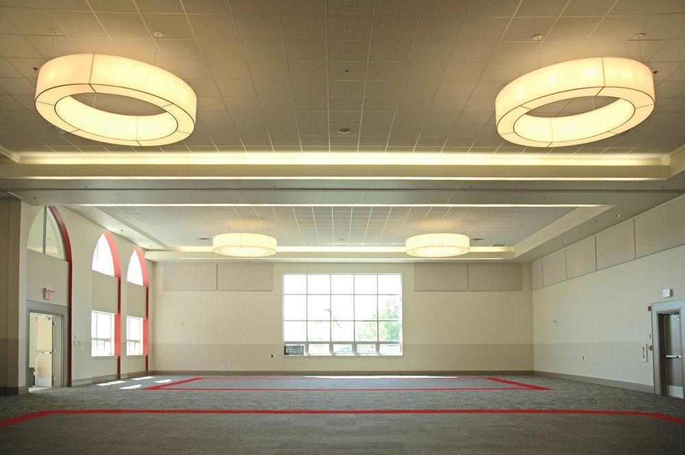 Punjab Cultural Centre, interior photo of gathering room / Photo: Derrick Finch