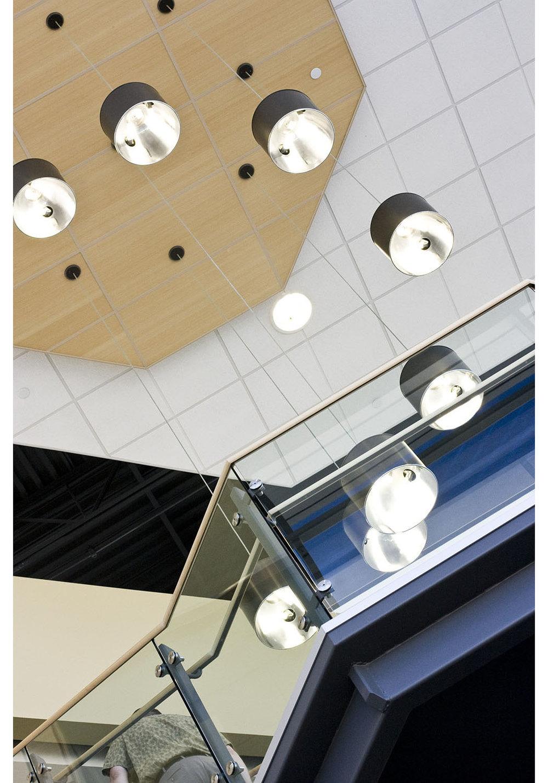 Qualico Winnipeg, interior photo of lighting / Photo: Tracy A Wieler