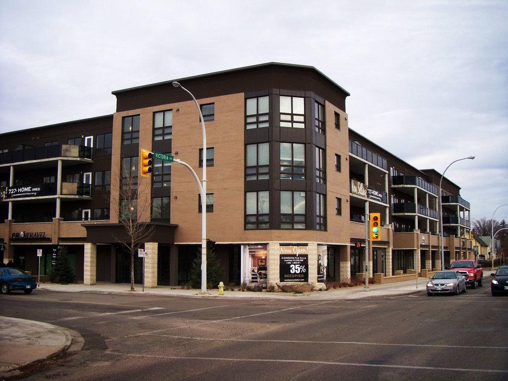 Renaissance Station Condominiums, exterior photo of building
