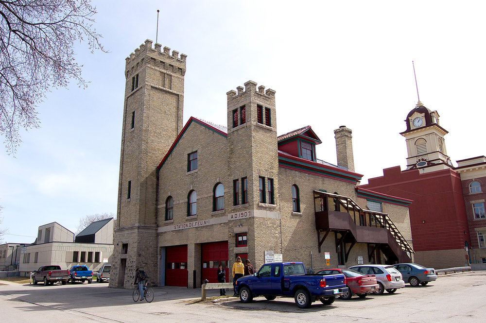 St Boniface Fire Hall Youth Hostel, exterior photo