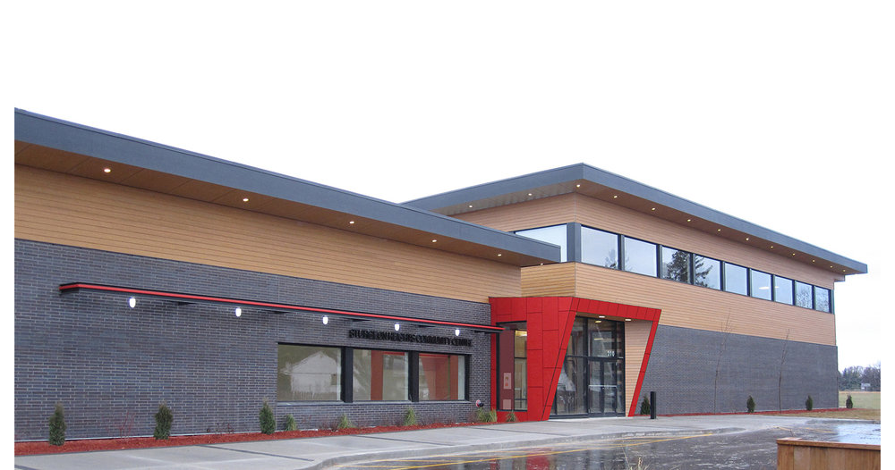 Sturgeon Heights Community Centre, exterior photo of building / Photo: Tracy A Wieler