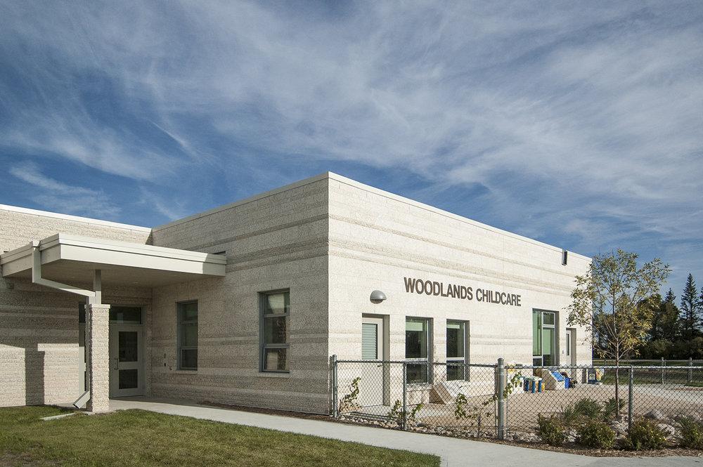 Woodlands K-8 School, exterior photo of building / Photo: Derrick Finch
