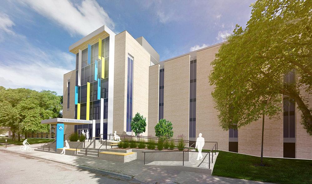 Brandon University John R. Brodie Science Centre