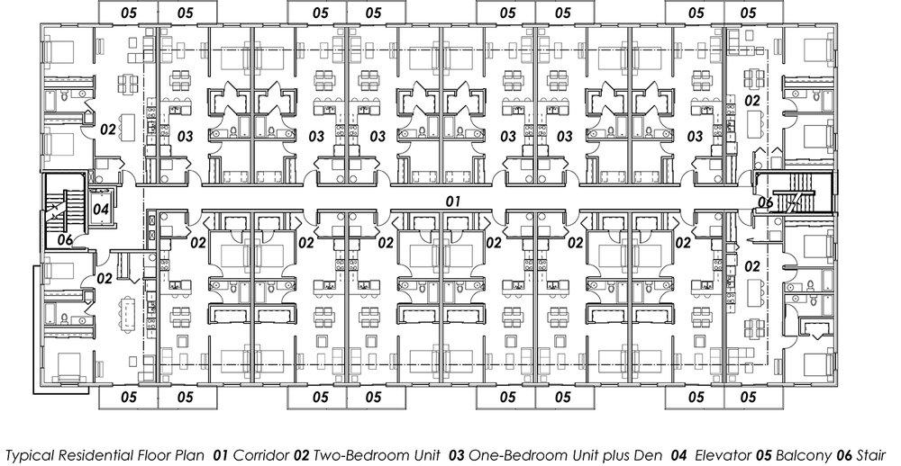 14.62 A1-01 Site Plan- Mayfair & River v2017