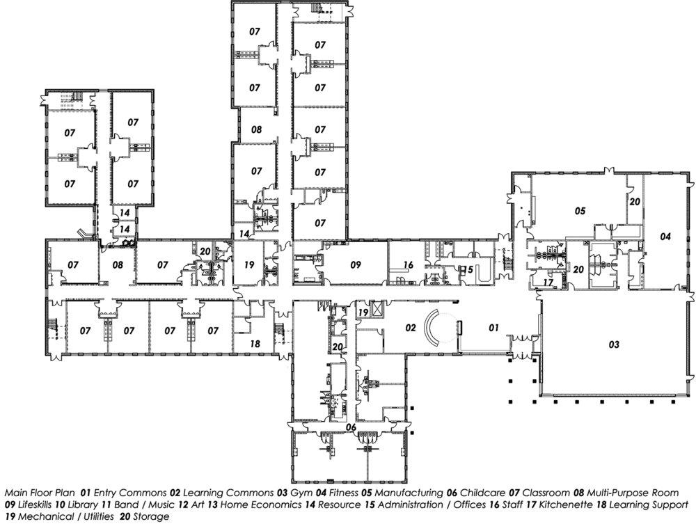 Main Floor-Sheet Title