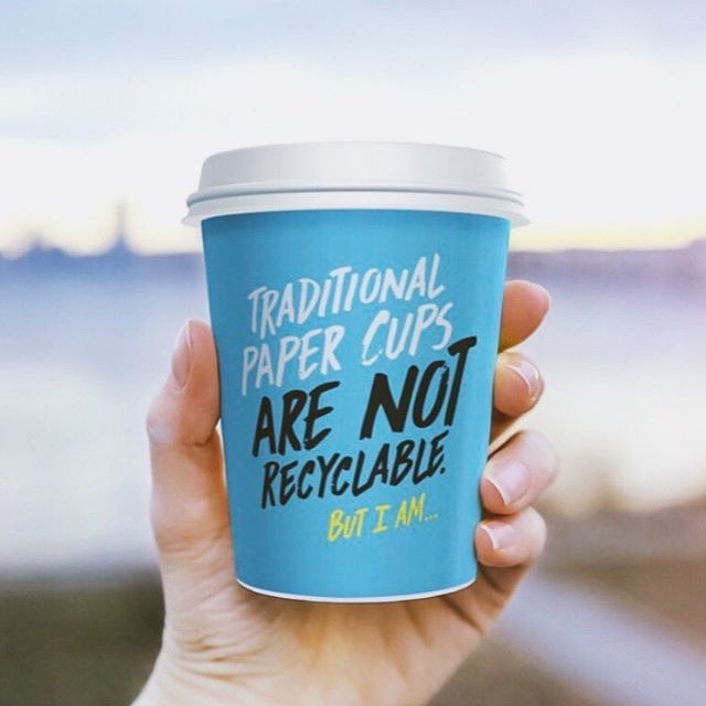 First Friday of the new year and we're starting it off with #recyclable paper cups! ♻️ . . Let's strive for a sustainable new year and eliminate the amount of paper cups going into our landfills. #RecycleMe #EarthCoating . . 📸: @detpak