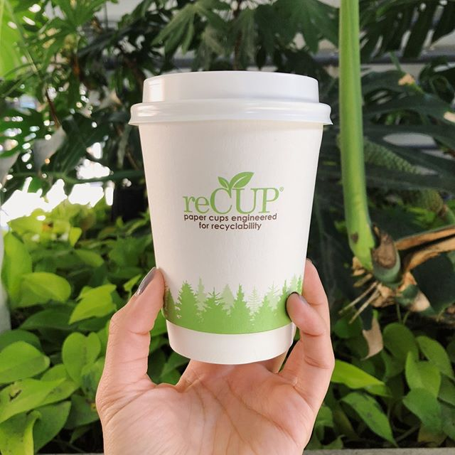 #reCUP 🌱 Paper cups engineered for #recyclability!