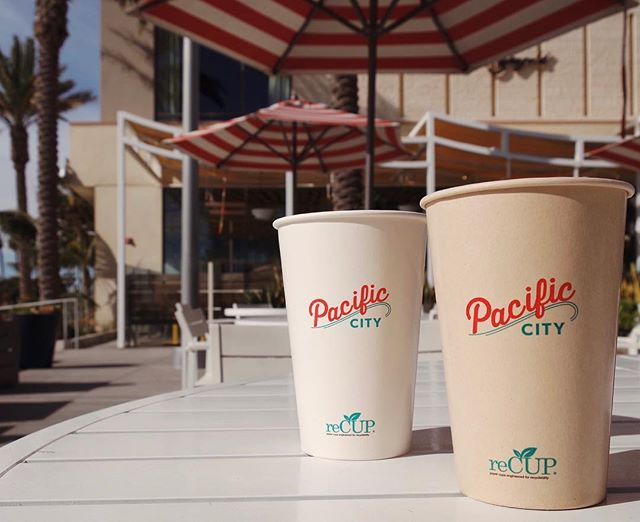 Oh Sun, you've been missed 🌞 #reCUP . . . #pacificcity #pacificcitymall #huntingtonbeach