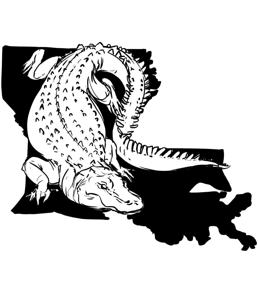 Louisianagator