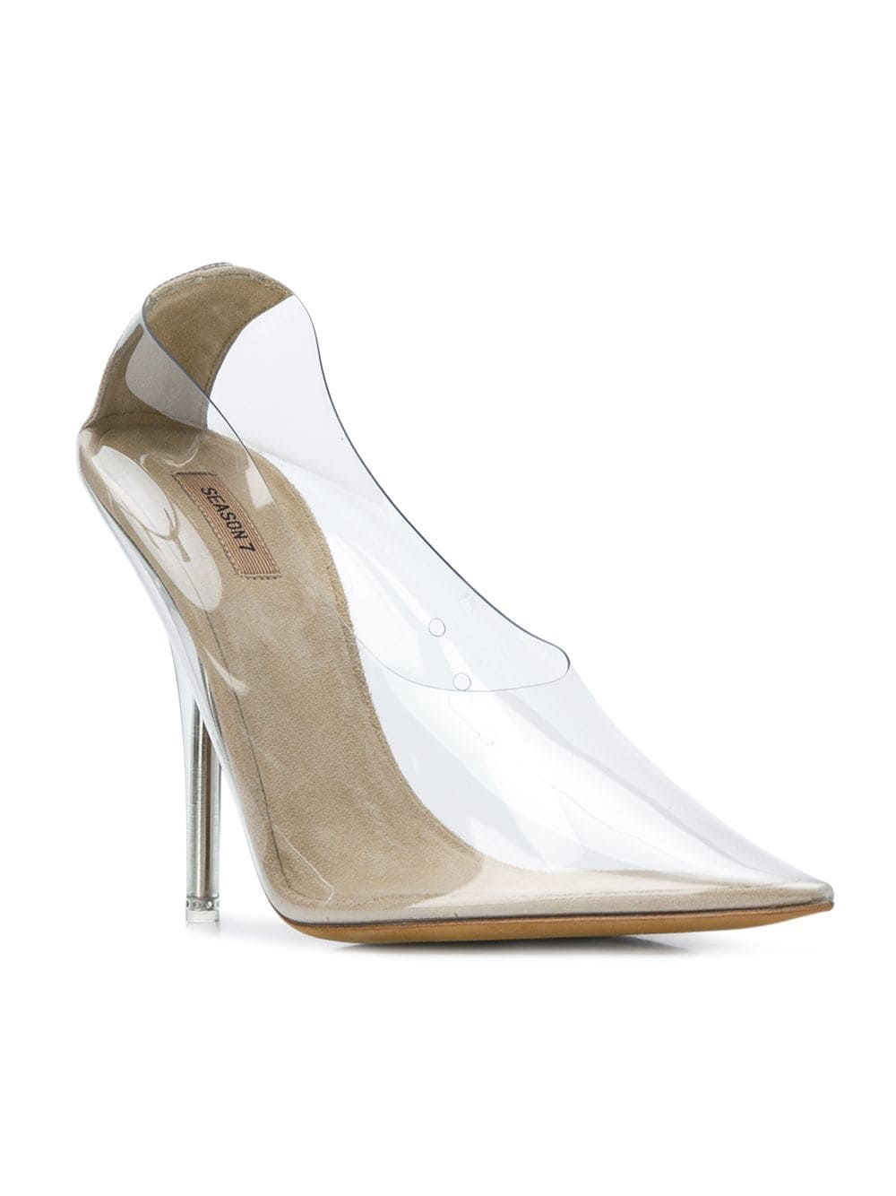 Clear Shoes - https://www.farfetch.com/shopping/women/yeezy-transparent-pointed-toe-pumps