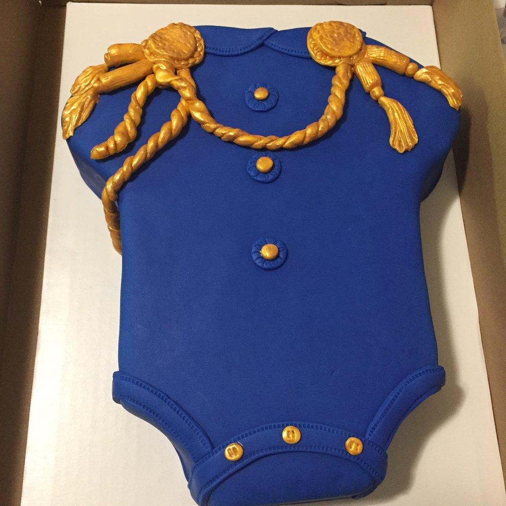 Onesie Cake