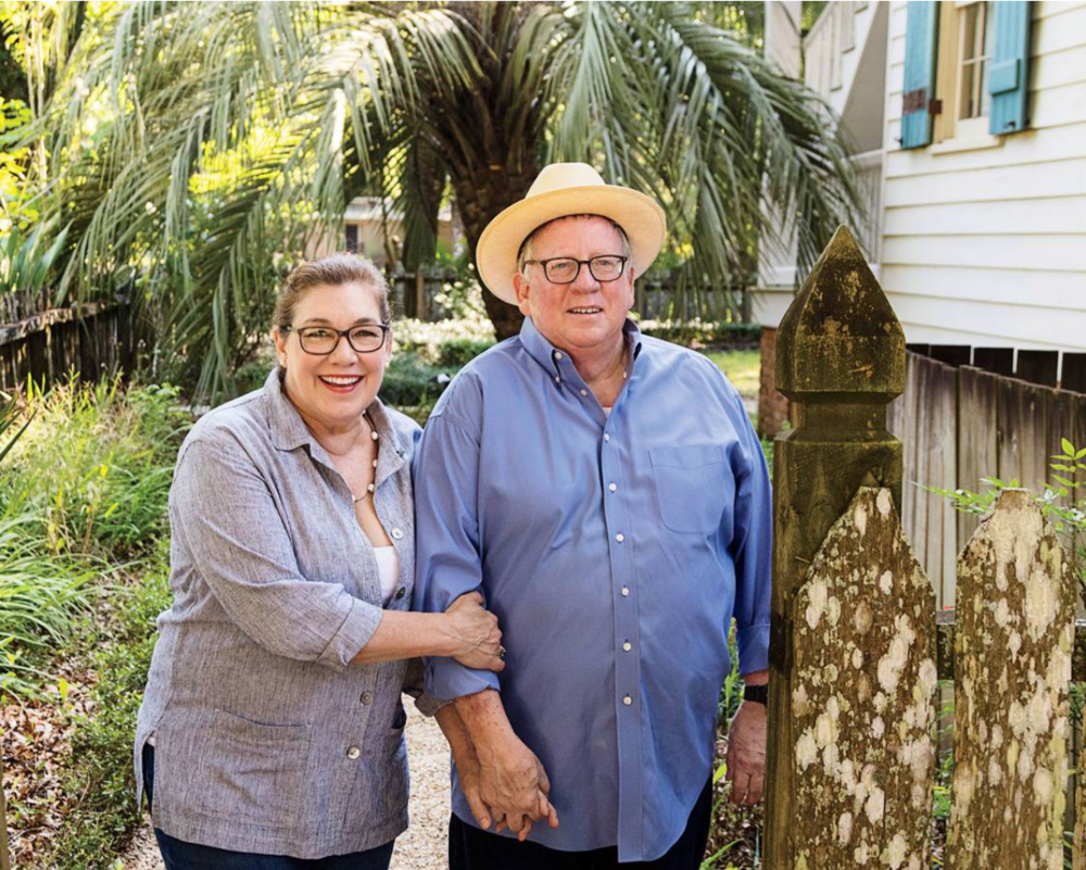 Proprietress Madeleine Cenac and her husband Walt Adams