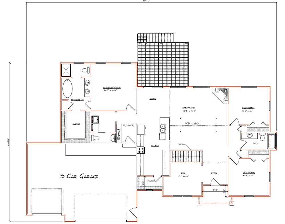 Lot 70 Floor Plan