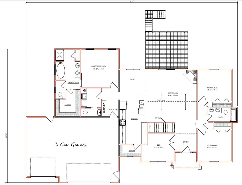 Lot 78 Floor Plan