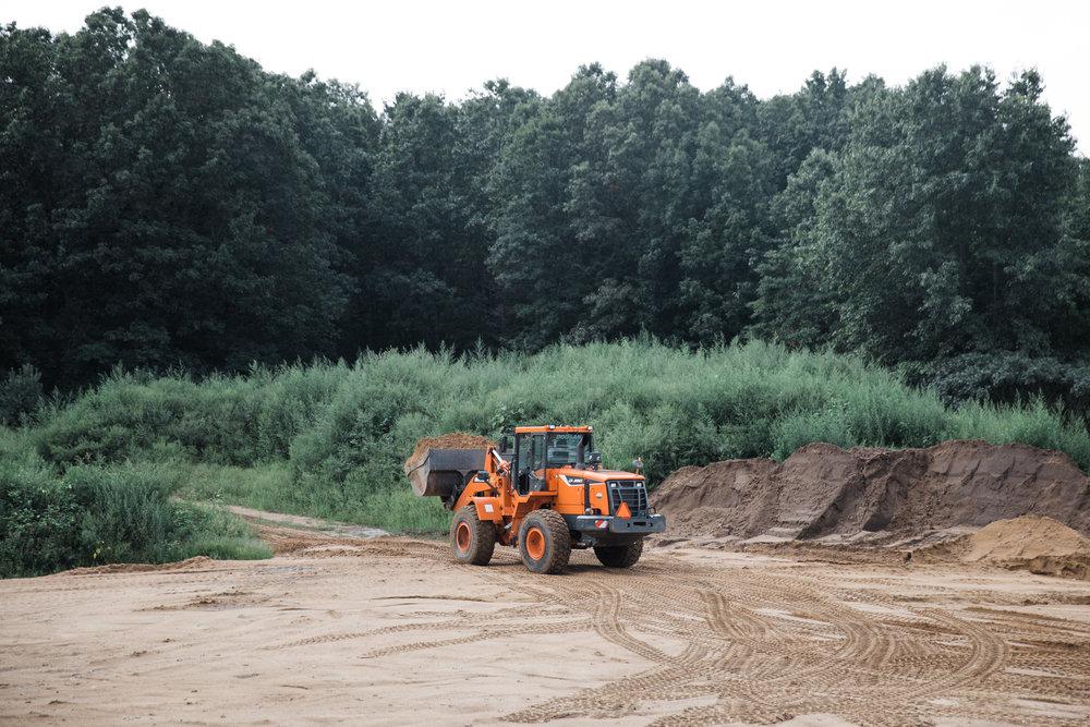 Excavating photo