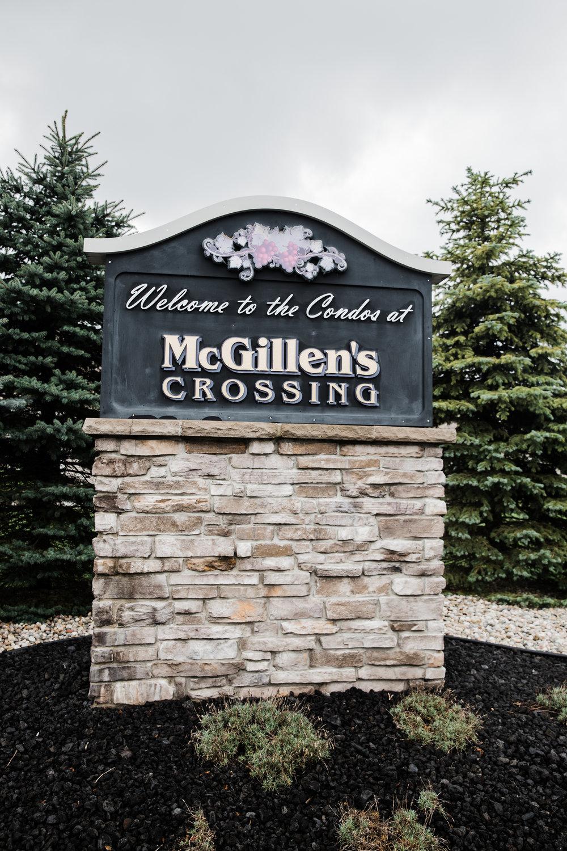 McGillen's Crossing Front Entrance