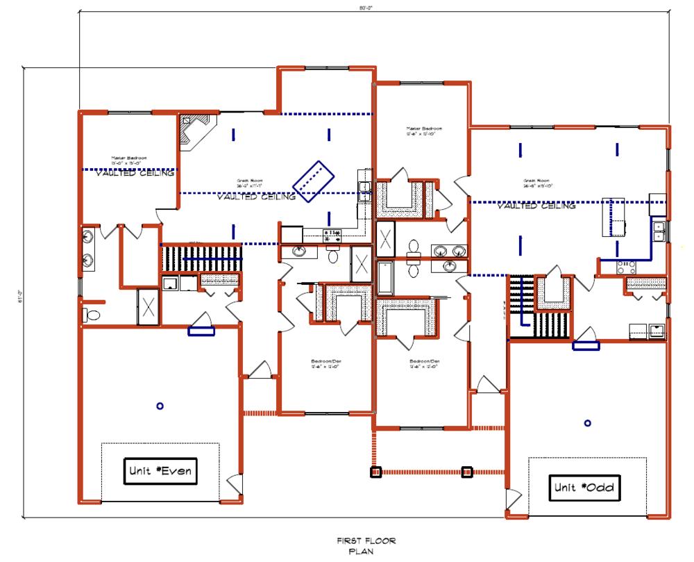 McGillen's Crossing Condo Floor Plan