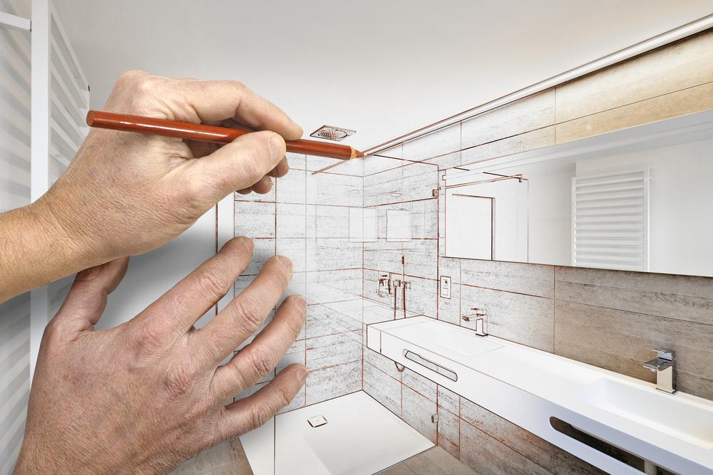 designing a luxury bathroom remodel