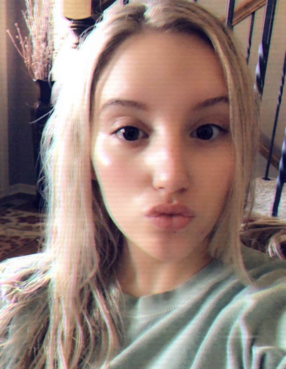 no makeup but definitely a filter…
