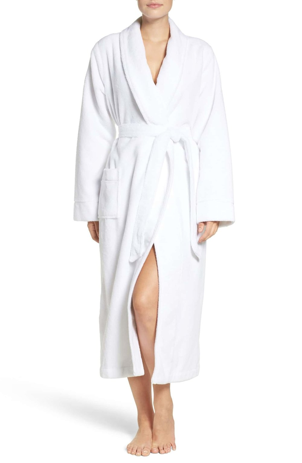 TERRY ROBE - Long robe for getting ready or unready…,or sleeping, or lounging…
