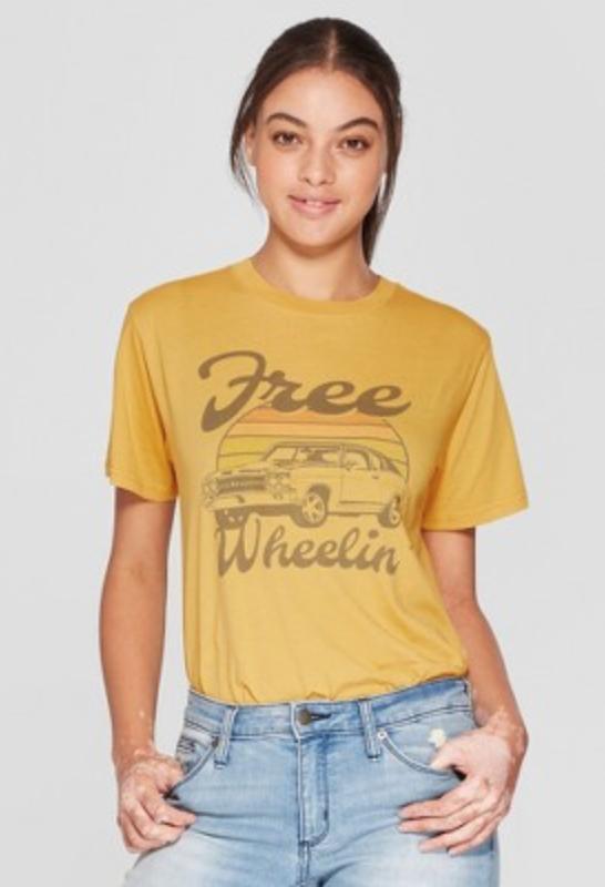 """Free Wheelin"" T Shirt $7.49 -"