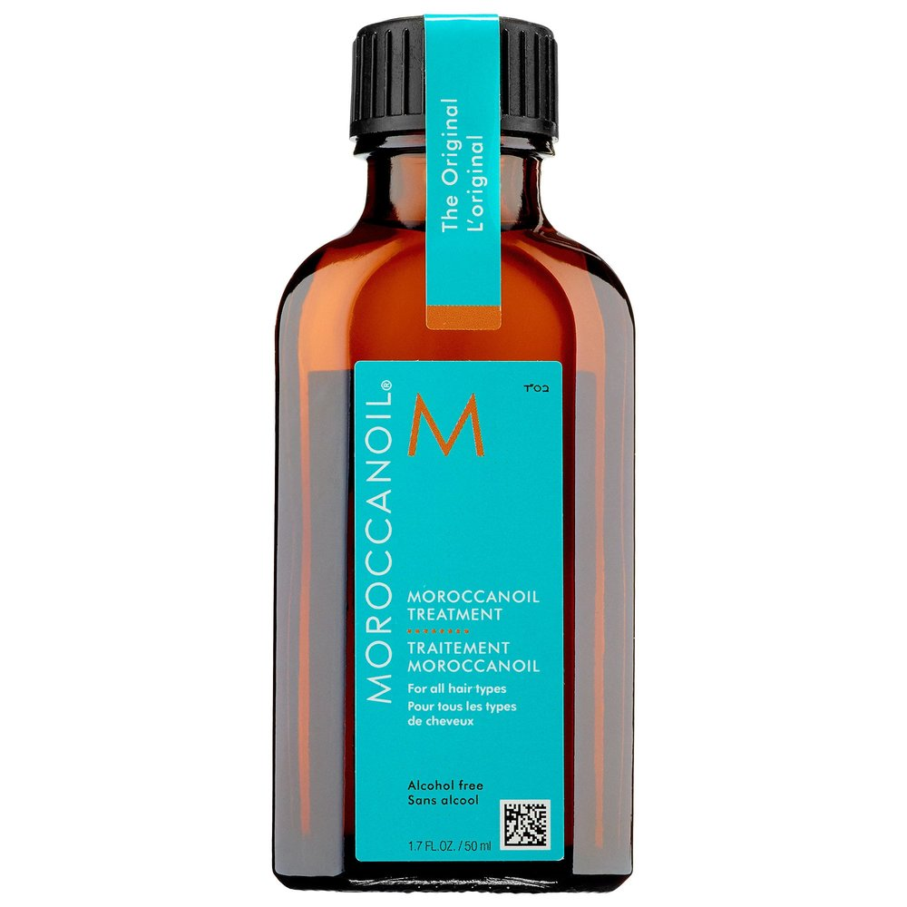 TREATMENT OIL - I use this when my hair is dry, wet, clean, dirty. It helps with frizz, static, dry ends, & makes my hair soo soft. I can't say enough great things about it.