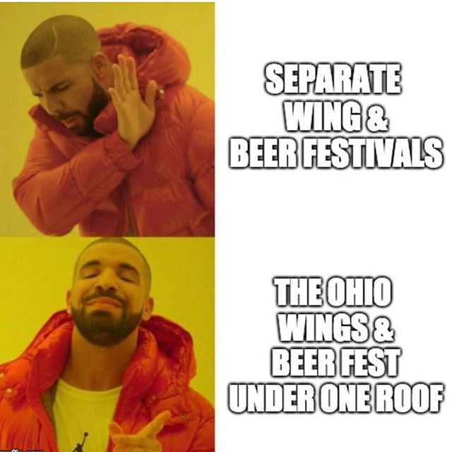We love beer festivals and we love eating wings. So, we're bringing the two together  under one roof with the best brand in Ohio!